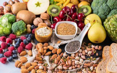 Top alimentos por macronutrientes